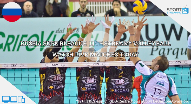 Russian Super League live volleyball stream video online free