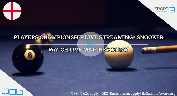 Players Championship live snooker stream video online free tv watch