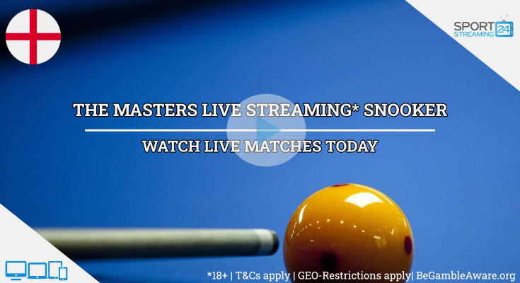 The Masters live snooker stream video online free tv watch