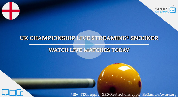 UK Championship live snooker streaming video online free watch tv