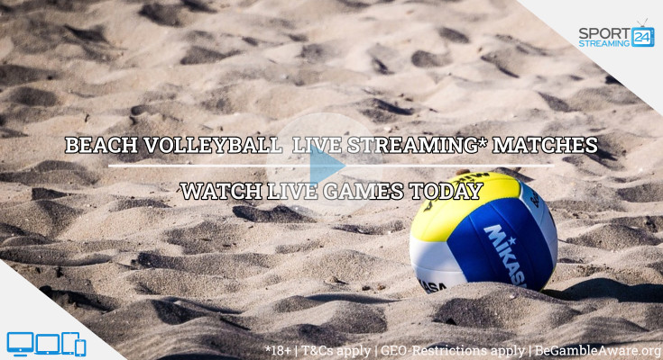 Beach Volleyball Live Streaming video online free watch today