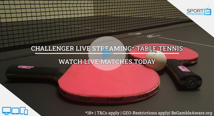 Challenger Table Tennis live stream volleyball video online free