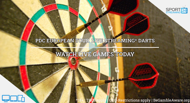 PDC European Tour darts live stream video online free image