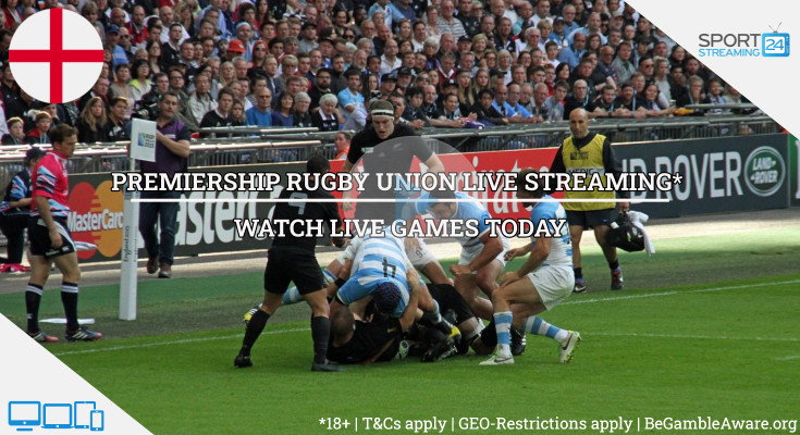 Premiership rugby union live streaming video online tv watch today