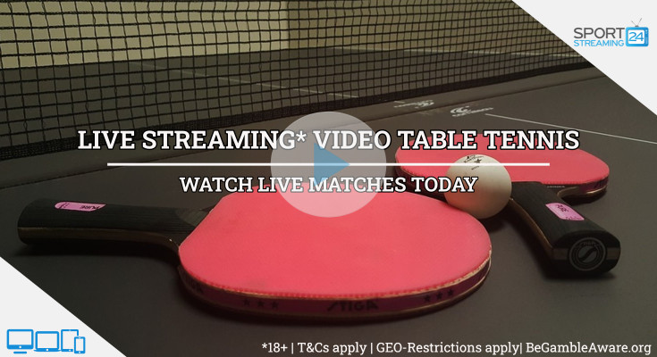 ITTF Hungary Open Table Tennis live stream video online free