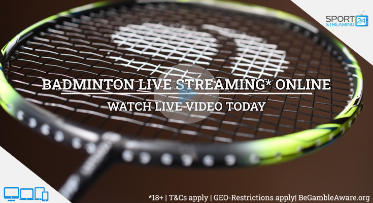 Macau Open badminton live stream video online free