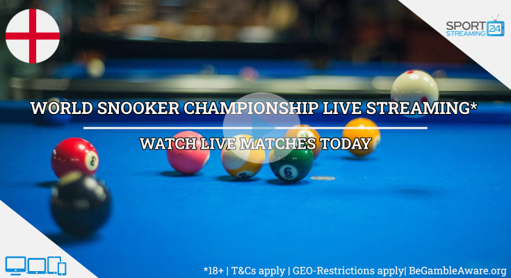 World Championship live snooker stream video online free tv watch