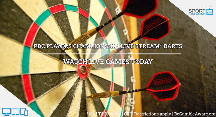 darts live streaming pdc players championship