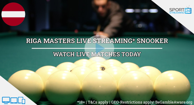 Riga Masters  live snooker stream video online free tv video match