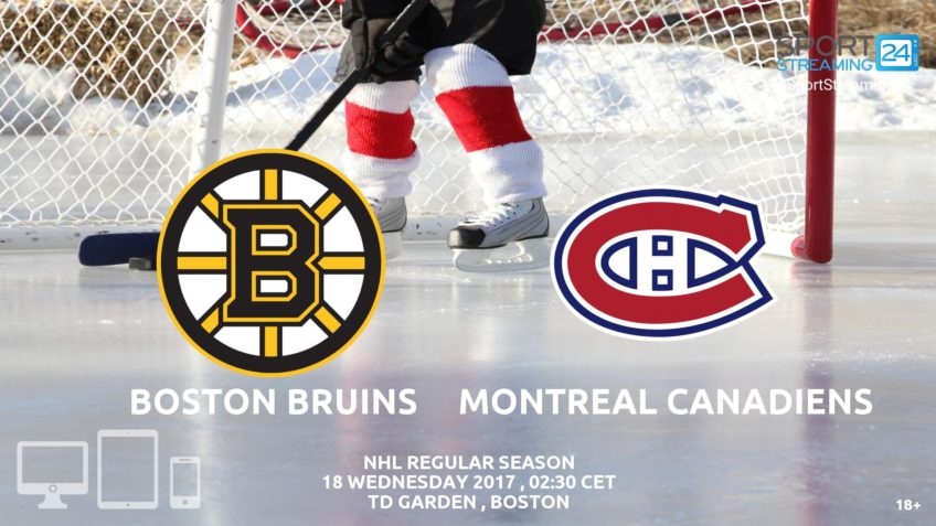 watch bruins canadiens live stream video