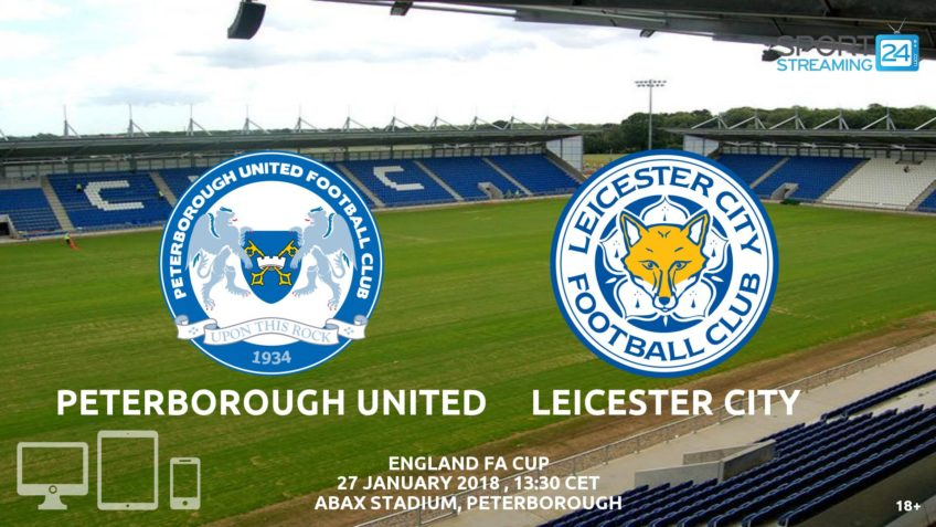 watch peterborough leicester live stream video bet365