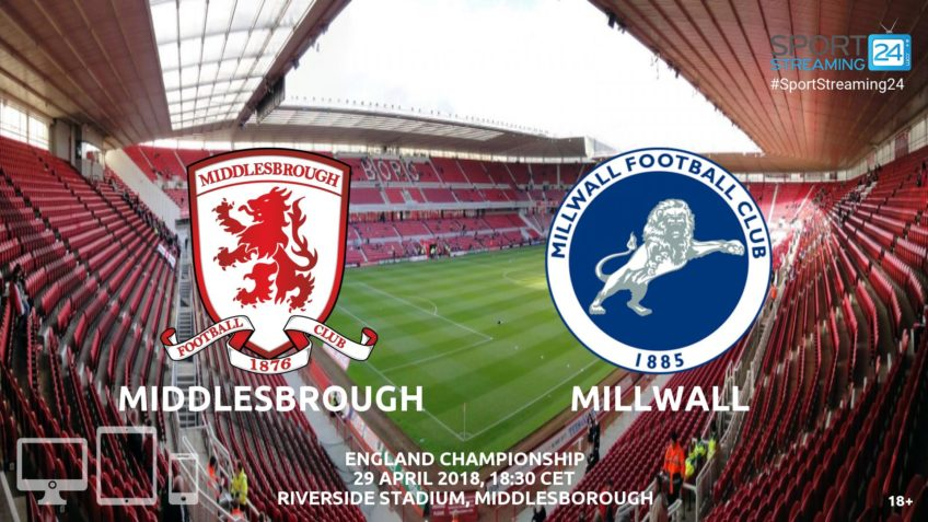 Middlesbrough v Millwall live stream bet365 video