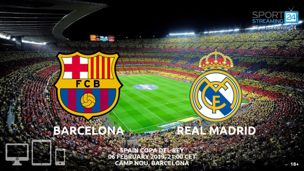 Thumbnail image for Barcelona Real Madrid Live Stream | Copa Del Rey