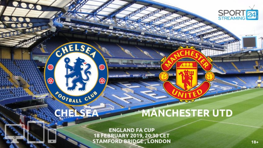 chelsea manchester utd live stream fa cup watch video free