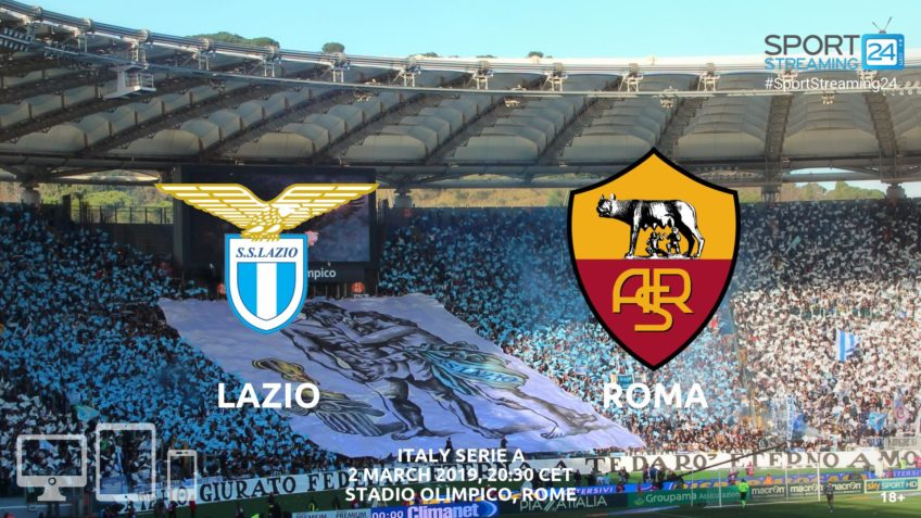 watch lazio roma live streaming video online
