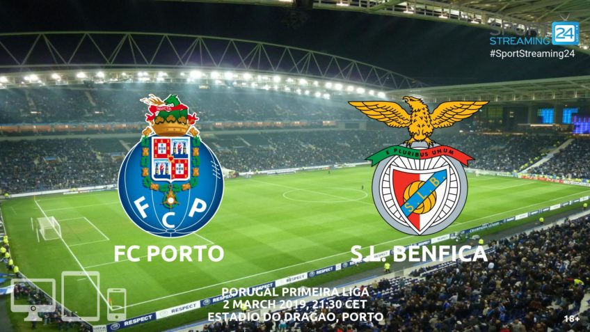 porto benfica live streaming video online watch