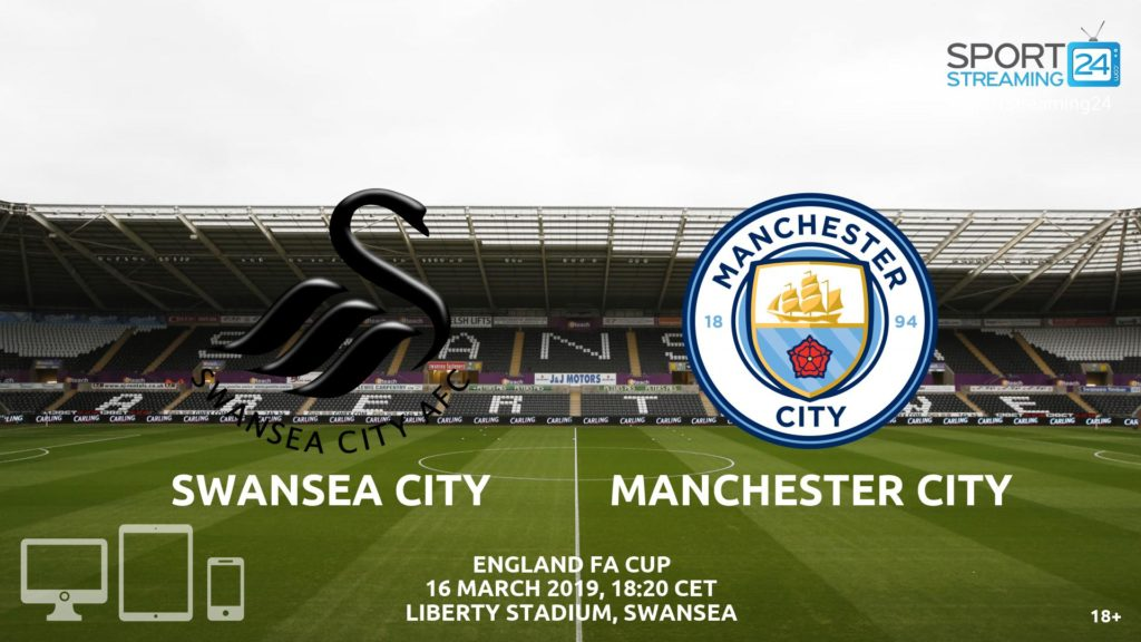 Thumbnail image for Swansea Manchester City Live Stream | FA Cup