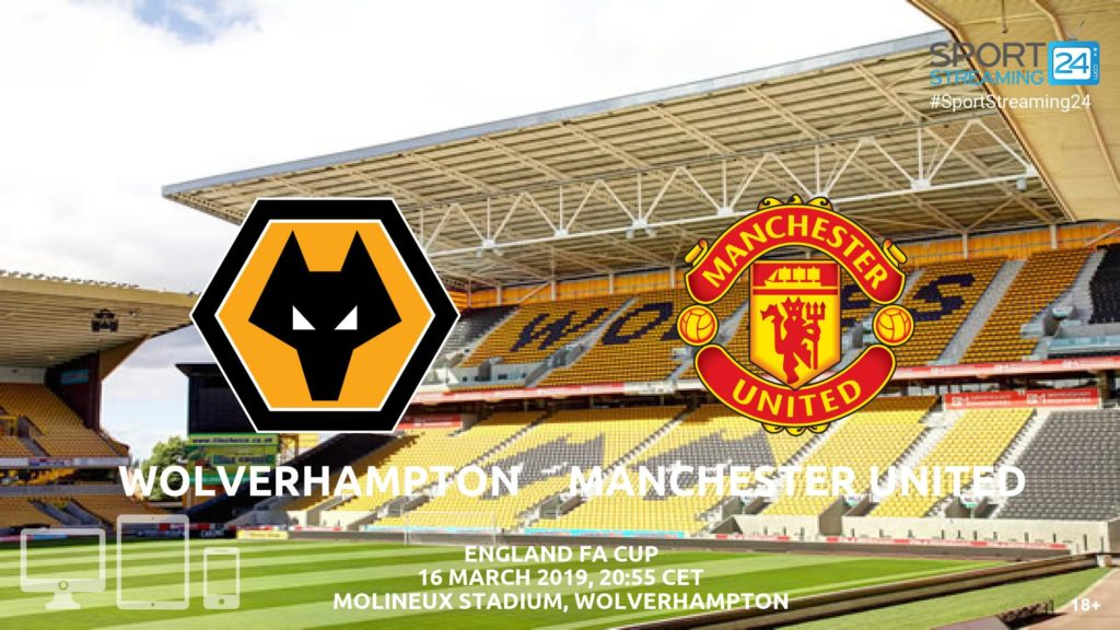 Thumbnail image for Wolves Manchester United Live Stream | FA Cup