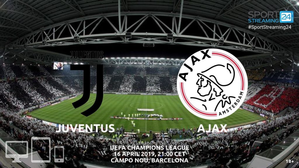 Thumbnail image for Juventus v Ajax Live Stream Betting Odds