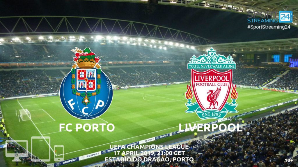 Thumbnail image for Porto v Liverpool Live Stream Betting Odds