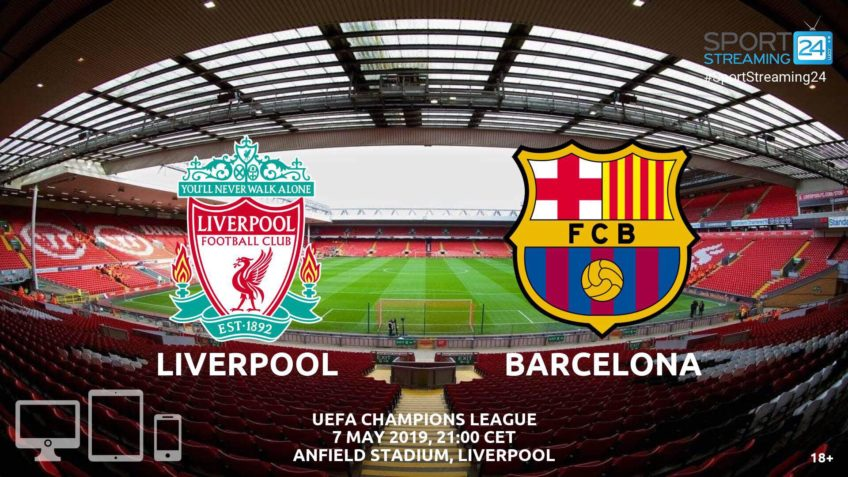 barcelona liverpool live stream betting odds