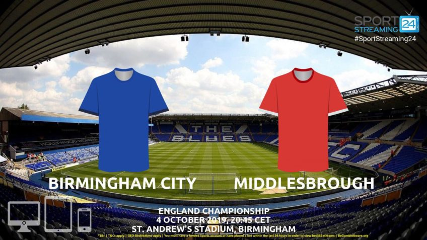 birmingham middlesbrough live stream betting odds