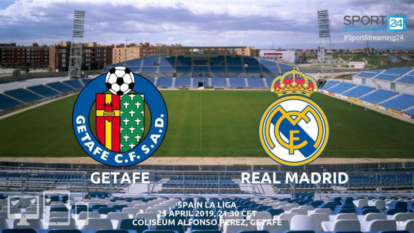getafe real madrid live stream video streaming