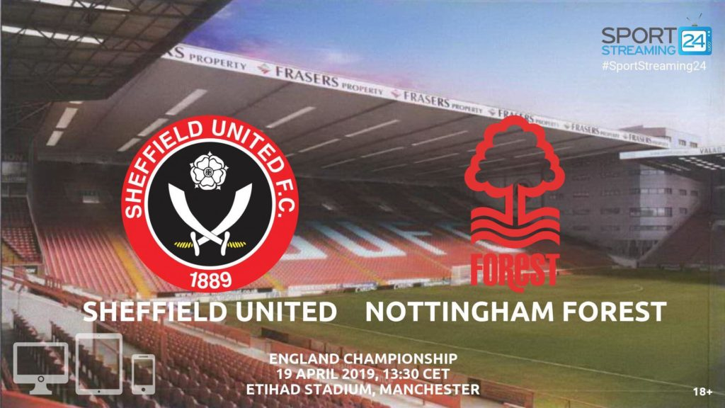 Thumbnail image for Sheffield United Nottingham Forest Live Streaming | England Championship