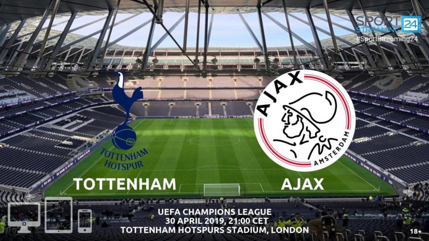 tottenham ajax live stream betting odds