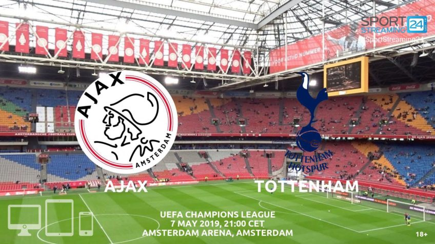 ajax tottenham live stream betting odds