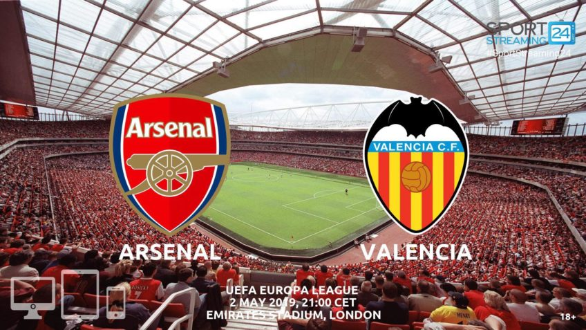 arsenal valencia live stream betting odds