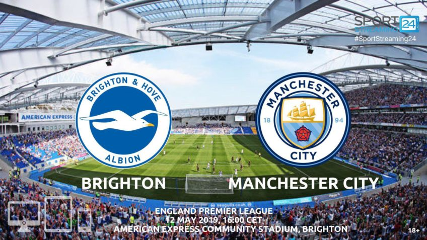 brighton manchester city live stream betting odds