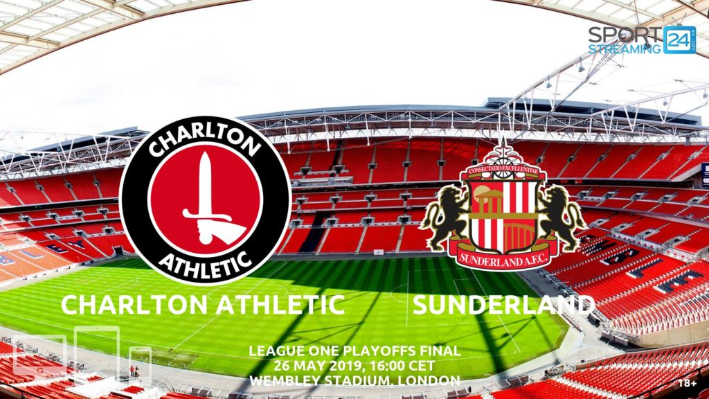 Thumbnail image for Charlton Sunderland Live Streaming | League 1 Play Offs Final