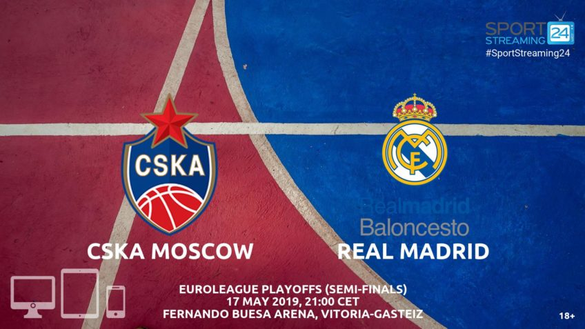cska moscow real madrid live streaming euroleague