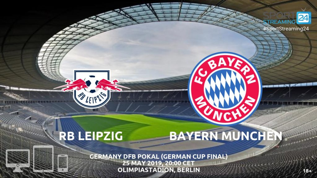 Thumbnail image for Leipzig Bayern Munchen Live Streaming | DFB Cup final