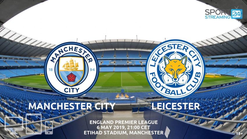 manchester city leicester live stream betting odds