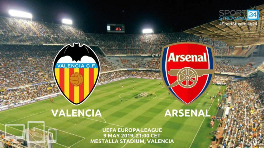 valencia arsenal live stream betting odds
