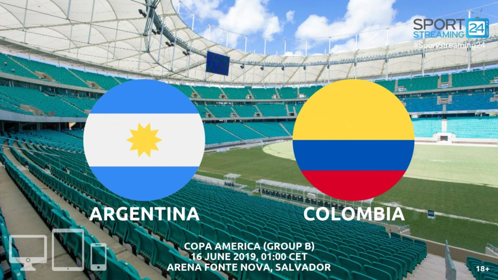 Thumbnail image for Argentina v Colombia Live Streaming | Copa America