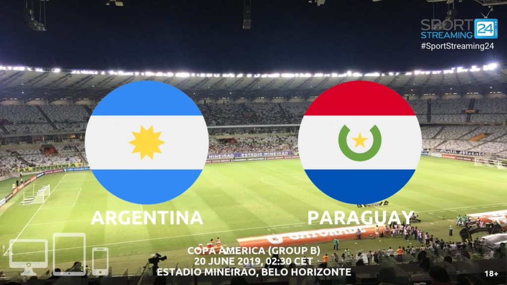 Thumbnail image for Argentina v Paraguay Live Streaming | Copa America