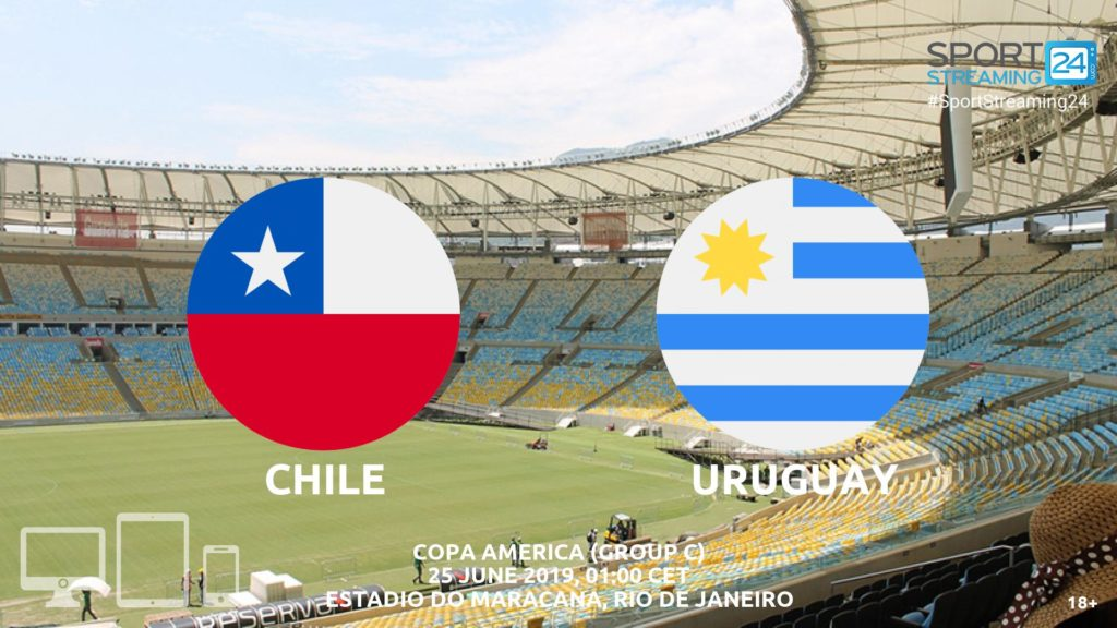 Thumbnail image for Chile v Uruguay Live Streaming | Copa America