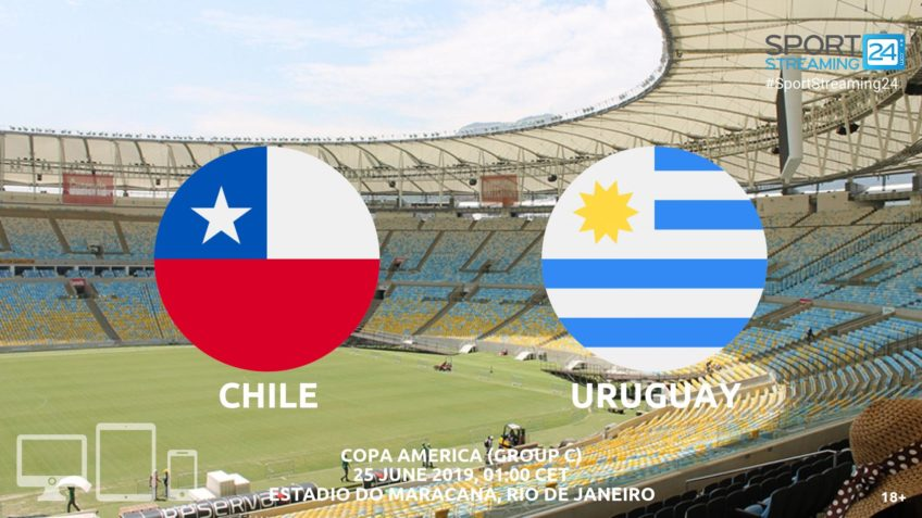 chile uruguay live stream betting odds