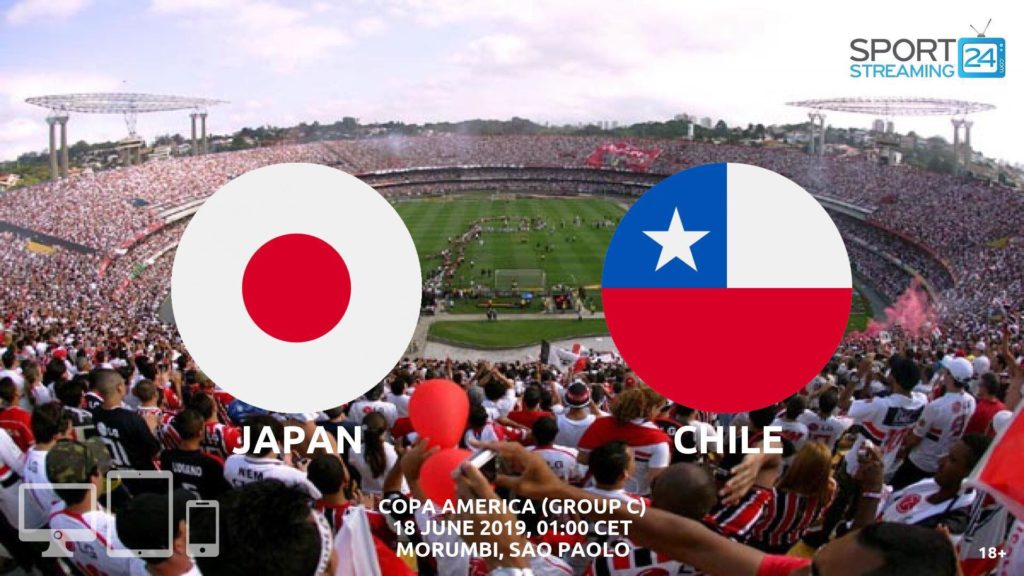 Thumbnail image for Japan v Chile Live Streaming | Copa America