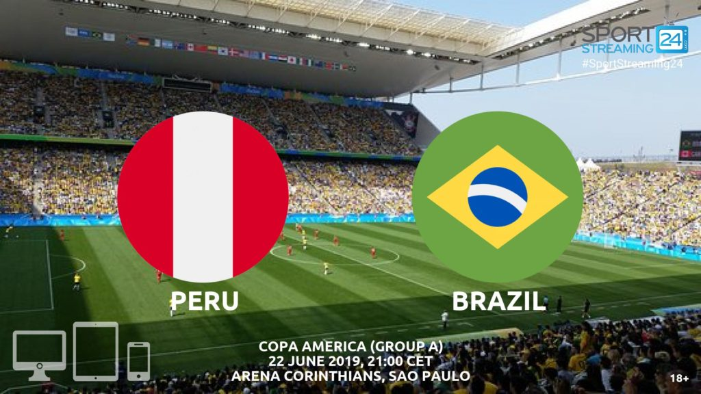 Thumbnail image for Peru v Brazil Live Streaming | Copa America