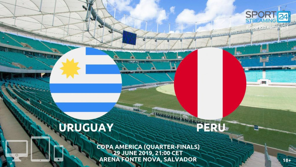 Thumbnail image for Uruguay v Peru Live Streaming | Copa America