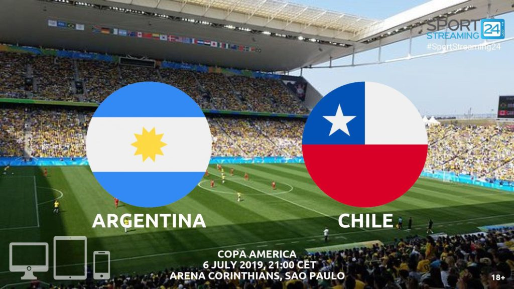 Thumbnail image for Argentina v Chile Live Streaming | Copa America