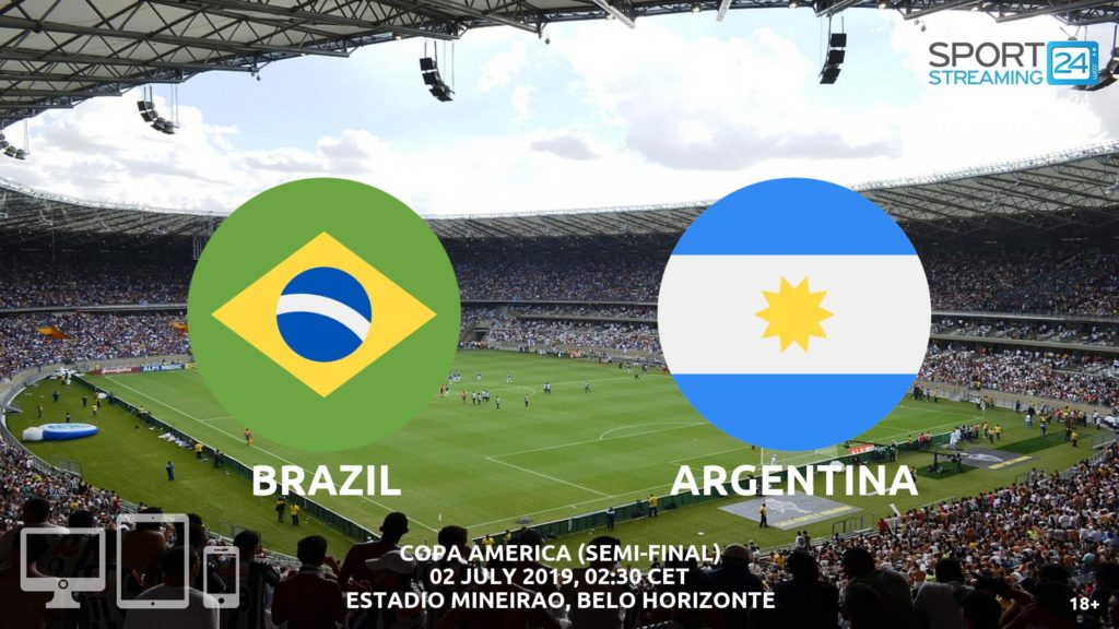 Thumbnail image for Brazil v Argentina Live Streaming | Copa America