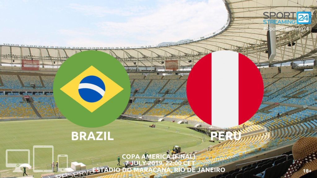 Thumbnail image for Brazil v Peru Live Streaming | Copa America Final