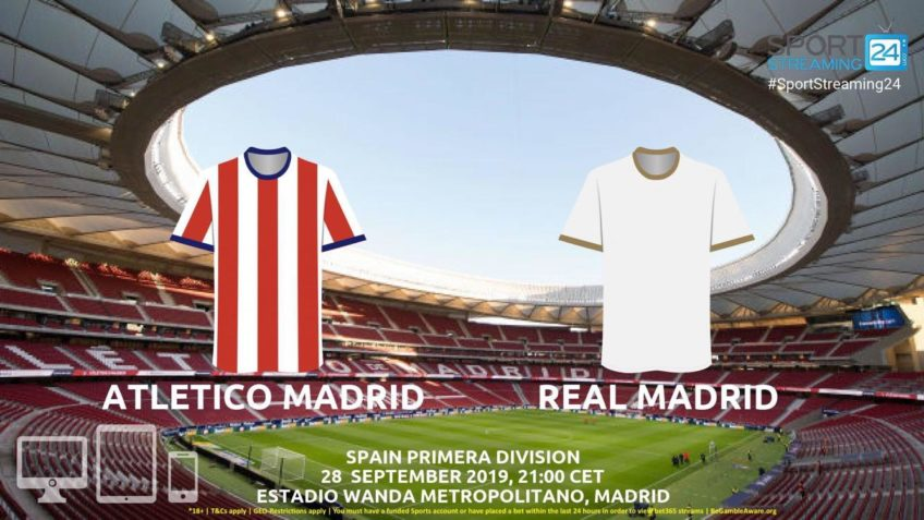 atletico madrid real madrid live stream betting odds