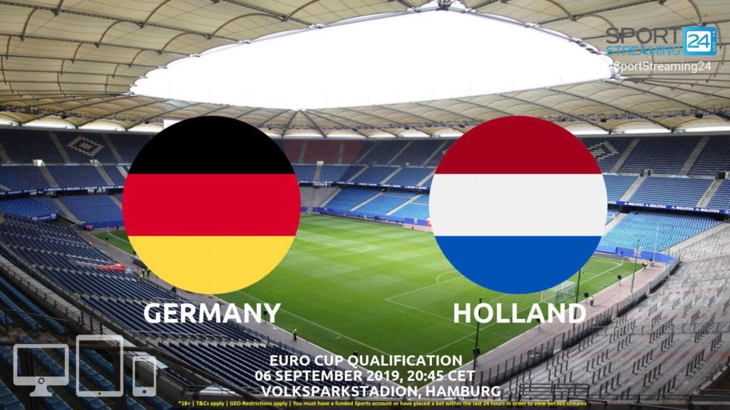 Thumbnail image for Germany v Netherlands Live Streaming | EURO 2020 Qualifiers