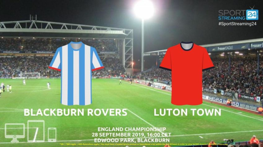 blackburn luton live stream betting odds